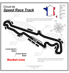 tire track cup circuit wallpaper vector image