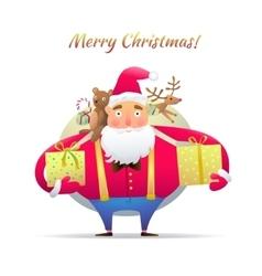Character Santa Claus vector image vector image