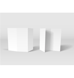 Paper Cards vector image vector image