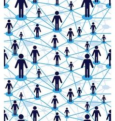 web diagram network vector image