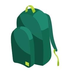 School bag icon cartoon style vector image