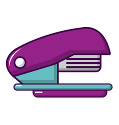 stapler icon cartoon style vector image vector image