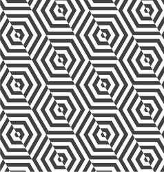Alternating black and white diagonally cut vector