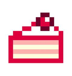 Pixel Retro Donuts Vector Images 15