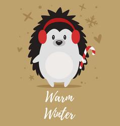 christmas new year greeting card vector image