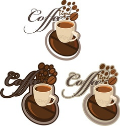 COFFE 2 new vector image