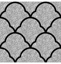 Floral silver wallpaper vector