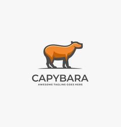 Logo cayenne mascot cartoon vector