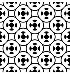 Ornamental pattern oriental arabesque style vector