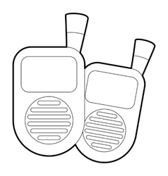 Radio baby monitor icon isometric 3d style vector
