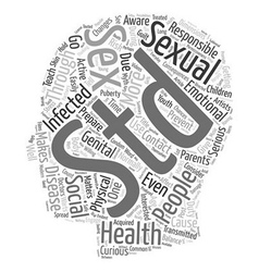 Sexual health awareness and social responsibility vector