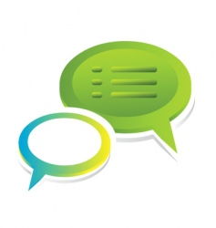 chat vector image vector image