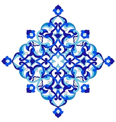 Artistic ottoman pattern series ninety nine vector