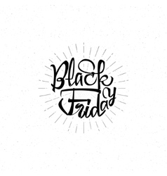 Black Friday sale - stickers badges has written vector