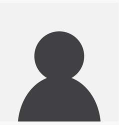 blank avatar photo icon design vector image