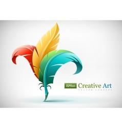 Creative art concept vector