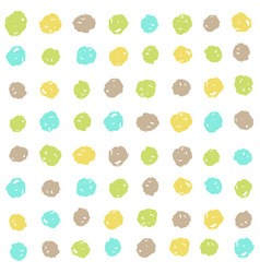 Cute dots background vector
