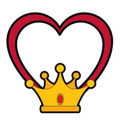 Luxury king crown vector