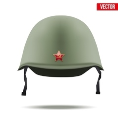 Russion Military classic helmet vector