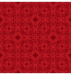 Seamless Background red pattern backdrop vector image