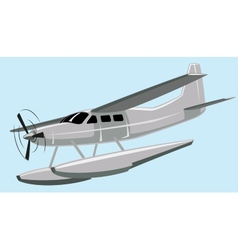 Seaplane vector