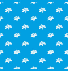 Whortleberries pattern seamless blue vector