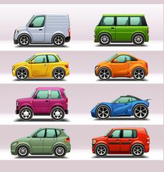 car icon set-4 vector image