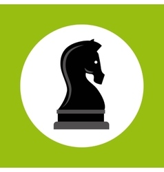 chess horse strategy business vector image vector image