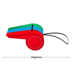 A Whistle of The Republic of Dagestan vector image