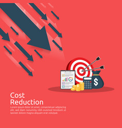 Business finance crisis concept stack pile coins vector