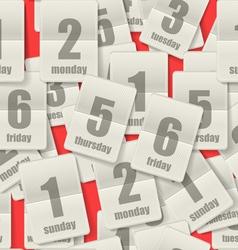 Calendar Page vector
