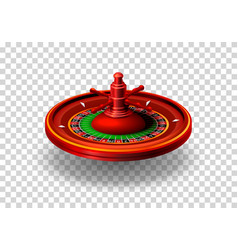 casino roulette object realistic vector image