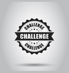 Challenge grunge rubber stamp on white background vector