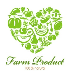 FarmProduct vector image