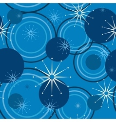 Geometric pattern of circles vector