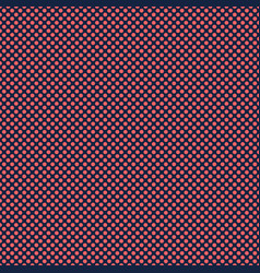 Navy blue red polka dot circles pattern vector