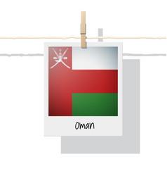 Photo of oman flag vector