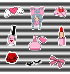 stickers2 vector image