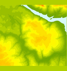 Topographic map contour background vector