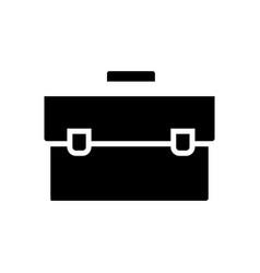 case simple icon black sign vector image vector image
