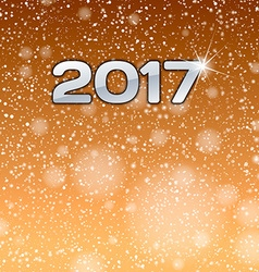Gold Show 2017 vector image