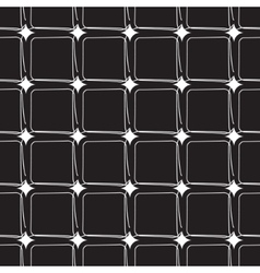 grid pattern black vector image
