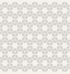 abstract seamless pattern of geometric shapes vector image