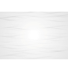 Abstract wavy light grey texture background vector