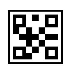 Qr quick response code vector