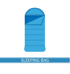 Sleeping bag icon vector
