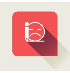 Bad review flat vector image vector image