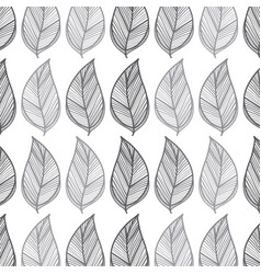 Rustic leaves background icon vector