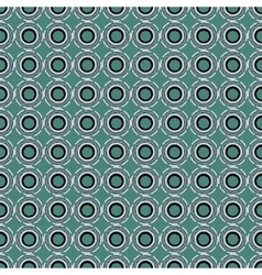 Seamless pattern with abstract circular figures vector image vector image
