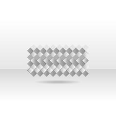 Abstract grey geometric tech design vector